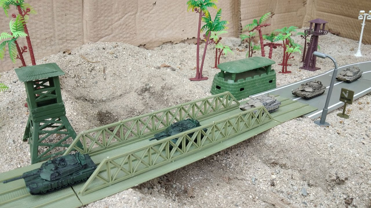 Download M1A2 Abrams Military Plastic Toy Soldiers