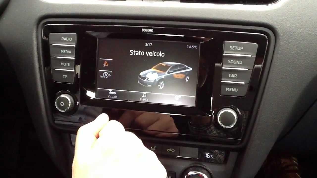 J And M Auto >> Gli interni di nuova Skoda Octavia (berlina) 2013 - YouTube