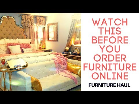 ✨Huge Bedroom  Room Furniture Haul/ Wayfair Review ,TJmaxx, At Home Store