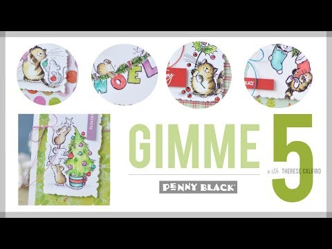 penny-black-gimme-5---quick-&-easy-christmas-critters!