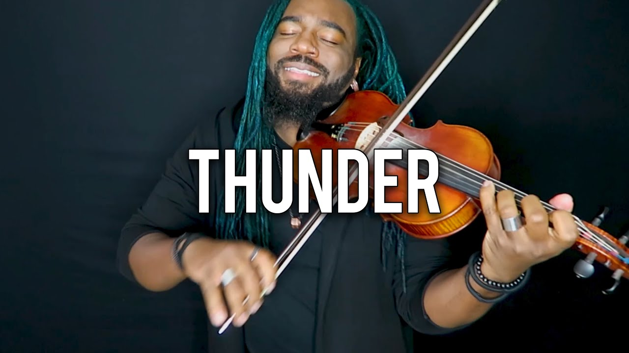 DSharp - Thunder (Violin Cover) | Imagine Dragons #1