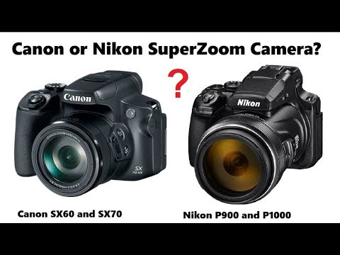 42eed418f7 Canon SX70 and Nikon P1000 Superzoom Camera Buying Decision - YouTube