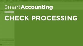 SmartAccounting - Check Processing