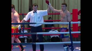 1 место Александра Захарова на чемпионате России по кикбоксингу