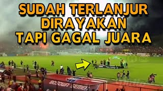 Download Video Lihat Perayaan Kekecewaan di Stadion Mattoanging Usai PSM Makassar Gagal Juara Liga 1 2018 MP3 3GP MP4
