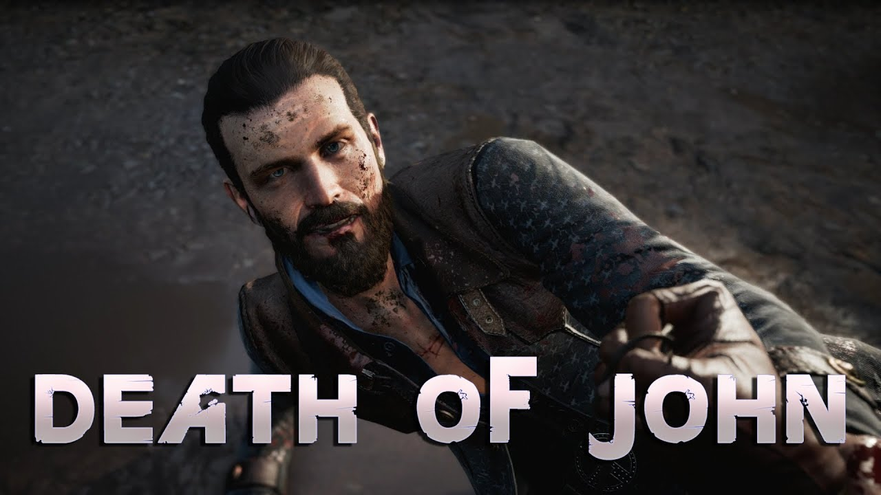 Far Cry 5 The Death Of John Seed Youtube