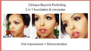 af somali clinique beyond perfecting 2 in 1 foundation concealer