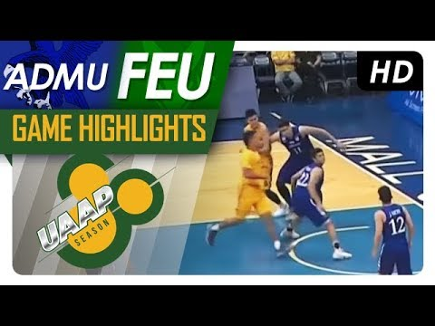 ADMU vs. FEU | Final Four Game Highlights | UAAP 80 Men's Ba