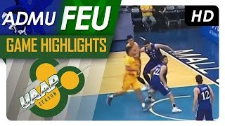 ADMU vs. FEU | Final Four Game Highlights | UAAP 80 Men's Basketball | November 22, 2017