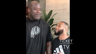 (LOL) SHAQ DOES THE LIVIN HIS BEST LIFE DANCE!