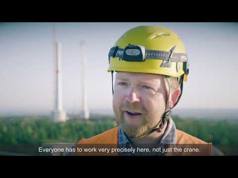 Liebherr - Wind Energy: The Lift