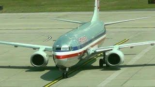 American Airlines 737-800 - Arrival BDL - Bradley Interntational Airport