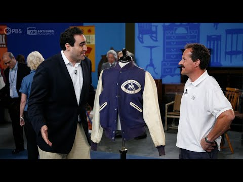 Johnny Unitas's '58 Championship Jacket Shows up on Antiques Road Show... Appraiser