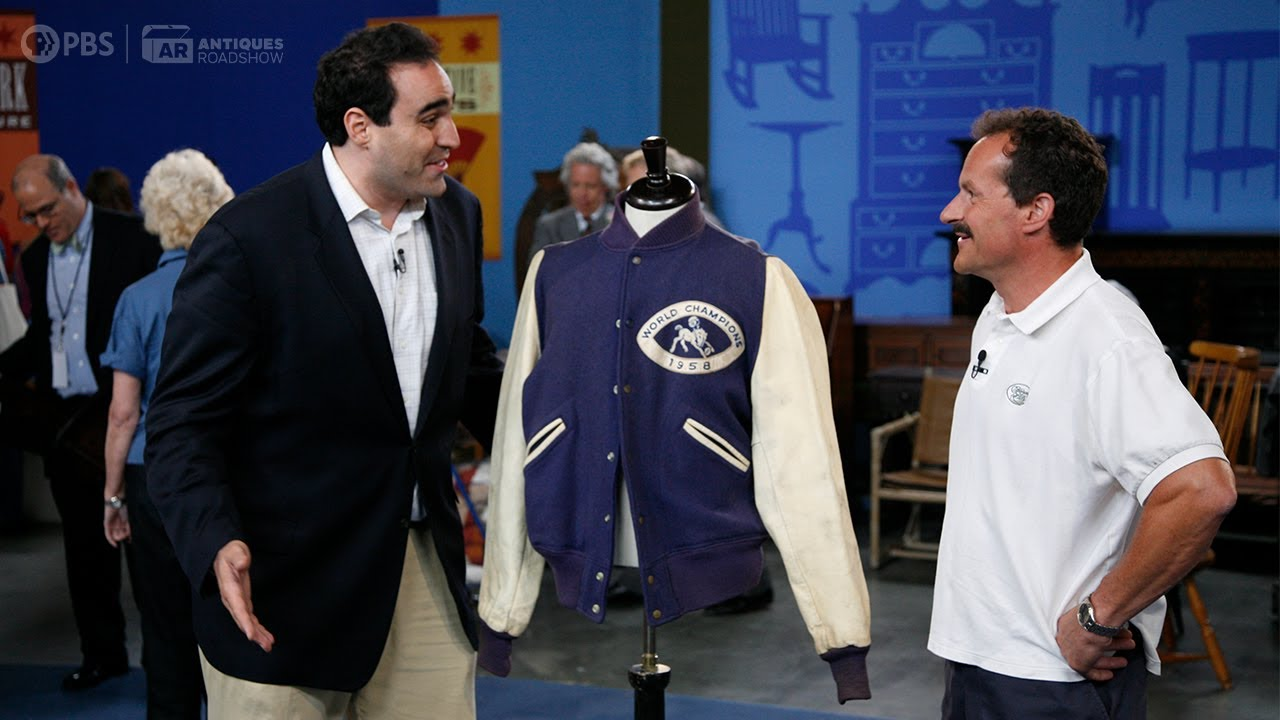 Preview: Unitas Colts Championship Jacket | Vintage Baltimore 2021, Hr 2 | ANTIQUES ROADSHOW | PBS