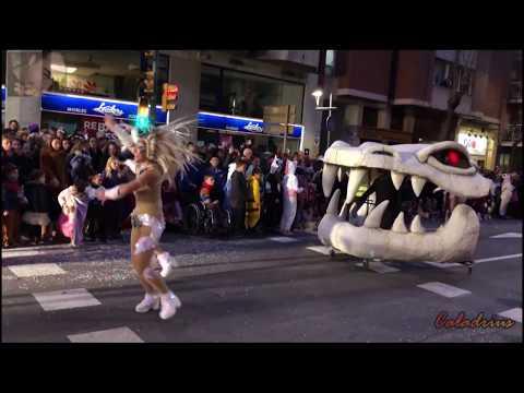 Carnaval Tarragona 2018 🎭| Rua de l'Artesania #Tarragona 2018