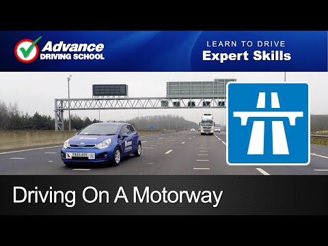 Driving on a Motorway     Learn to drive: Expert skills