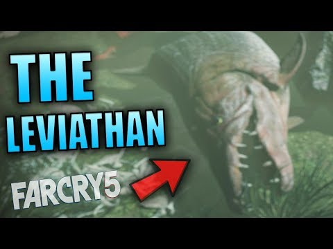 THE BIGGEST FISH IN FAR CRY 5 - THE DEAD LEVIATHAN (Bo Adams MISSION) | Far Cry 5 Gameplay