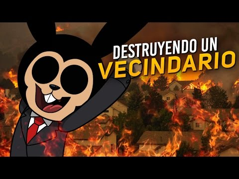 ROBLOX: DESTRUYENDO UN VECINDARIO | Destroy The Neighborhood!