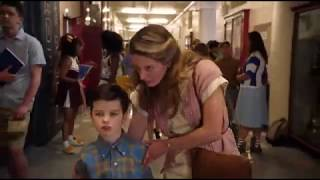 Young Sheldon First Day at School | Very Brave