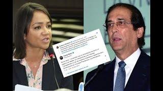 Faride ARREMETE contra Montalvo en Twitter...