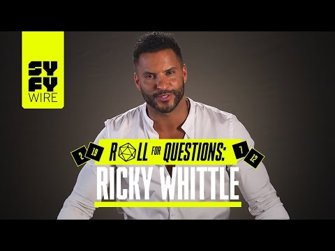 WATCH: American Gods' Ricky Whittle plays Roll For Questions