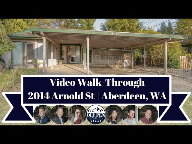 2014 Arnold Street | Aberdeen, WA | Video Walk-Through