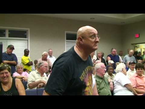 Angry Carol Lynn Resort Residents Pack Woodbine Council Meeting