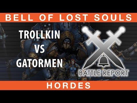 BoLS Battle Report #210 | Trollkin vs Gatormen | Hordes
