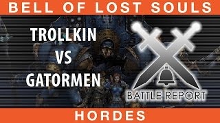 BoLS Battle Report #210 | Trollkin vs Gatormen | Hordes