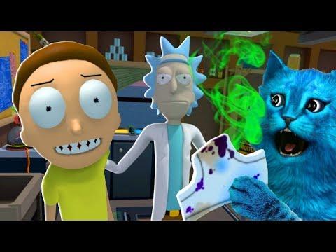 ГРЯЗНЫЕ ТРУСЫ РИКА и МОРТИ в ВИРТУАЛЬНОЙ РЕАЛЬНОСТИ Rick and Morty Virtual Rick ality VR