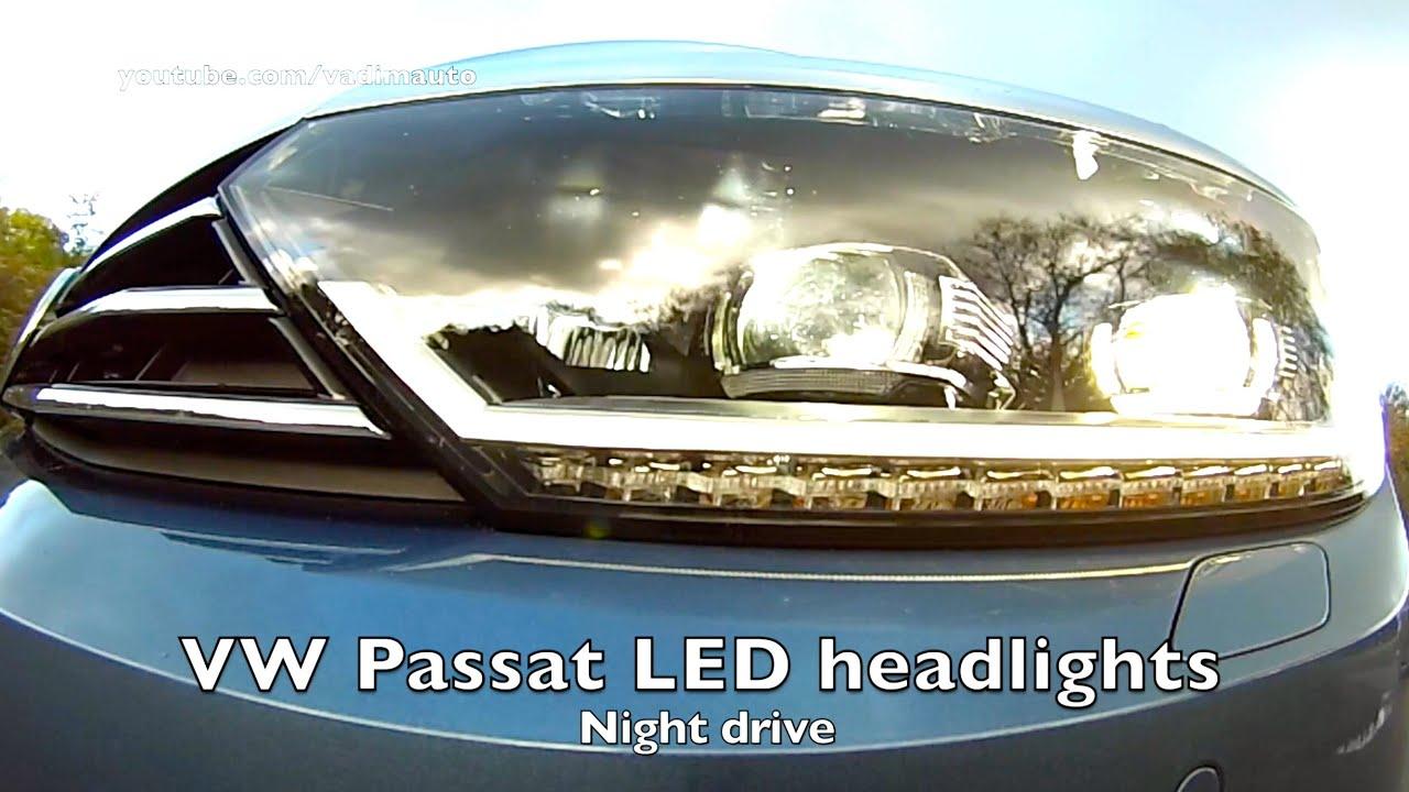 Tiguan Gte 2018 >> 2015 VW PASSAT LED test - YouTube