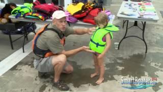 Child Lifejacket Fitting