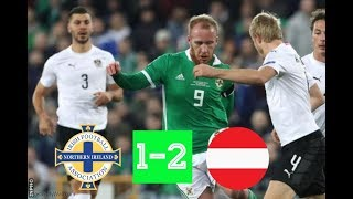 Northern Ireland vs Austria , Sunday November 18th 2018