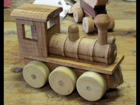 Making A Toy Train Engine