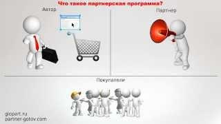 видео Партнерская программа