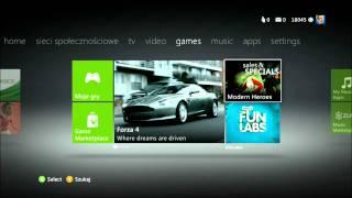 Stary i nowy dashboard Xbox 360