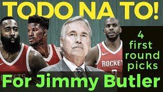 APAT na First Round Picks para kay Jimmy Butler - Alok ng Rockets