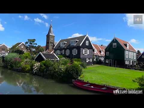 Marken, a beautiful town in the Netherlands