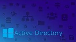 Active Directory Grundlagen Deutsch