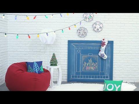 Make It, Love It, Move It—Easy DIY Fireplace