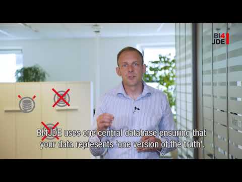 Easy Business Intelligence in the Cloud for Oracle JD Edwards ERP