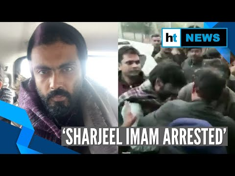 JNU student Sharjeel Imam arrested; Amit Shah slams his controversial speech