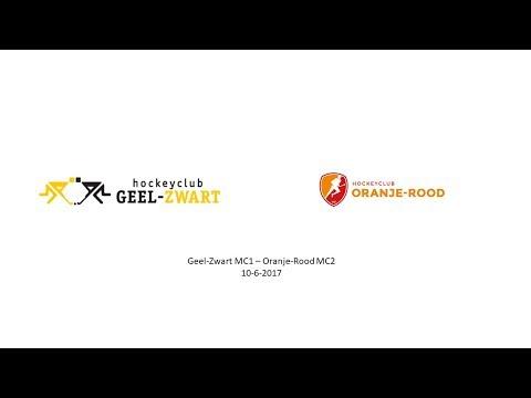 Geel-Zwart MC1 – Oranje-Rood MC2  10-6-2017