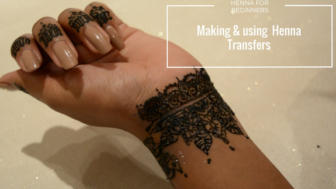How To Do Henna For Beginners And Make Designs Youtube