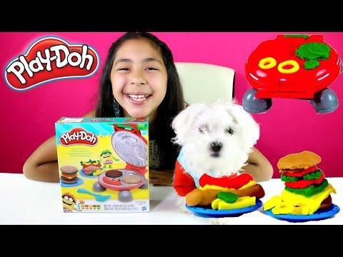 Tuesday Play Doh Burger Barbecue Hamburgers Hot Dogs French Fries| B2cutecupcakes