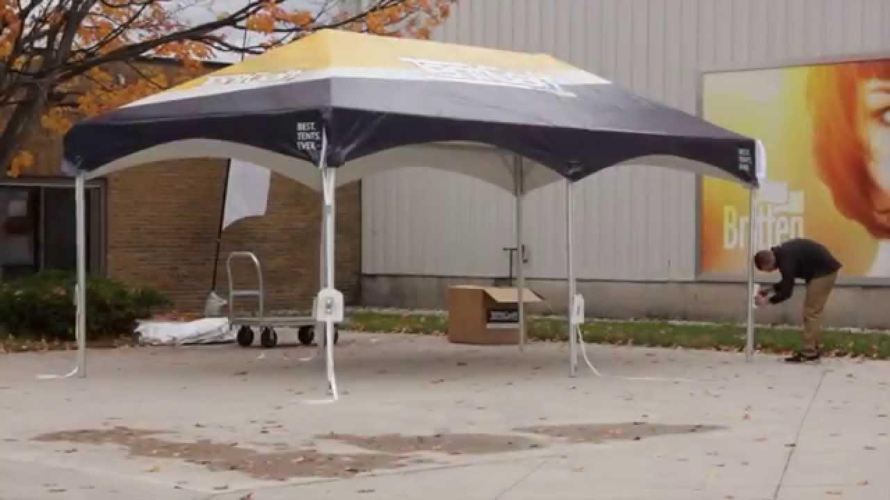 10X20 Frame Tent Setup Video - X-Series Model & 10X20 Frame Tent Setup Video - X-Series Model - YouTube