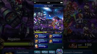 [FFBE] Aigaion Elite - With 2B no Tilith no cheese brute force