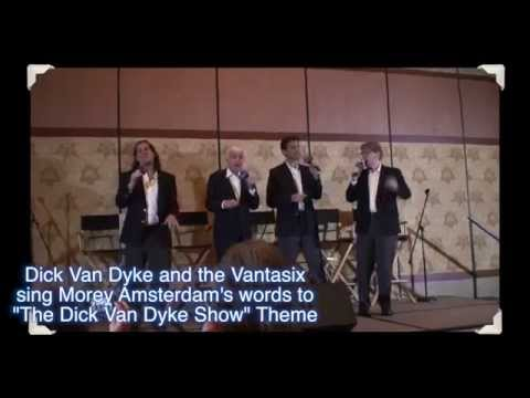 Dick Van Dyke and the Vantastix sing