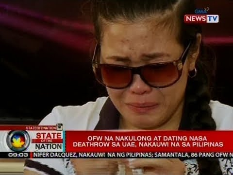 SONA: OFW na nakulong at dating nasa deathrow sa UAE, nakauwi na sa Pilipinas