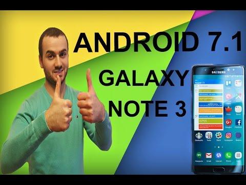 Установка  Android 7.1 на Galaxy Note 3/CyanogenMod 14.1 Nougat